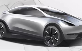 Tesla Hiina turu disain