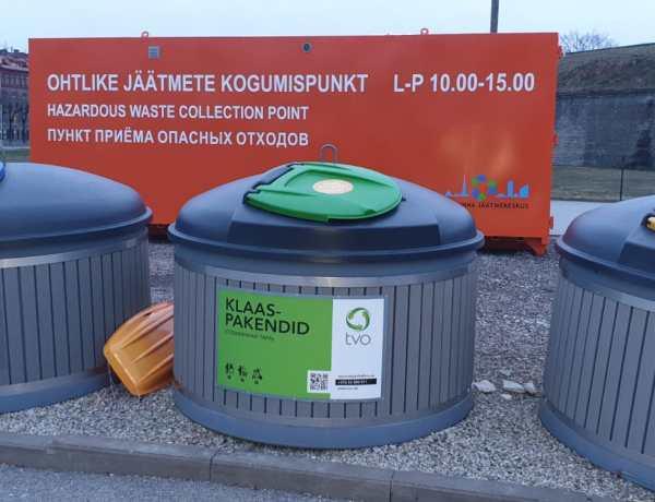 Tallinna kesklinnas saab nädalavahetustel ära anda ohtlikke jäätmeid