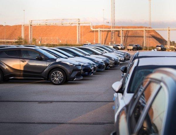 Amserv: kasutatud autod kaovad ladudest kui soojad saiad