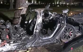 Tesla Model S põleng