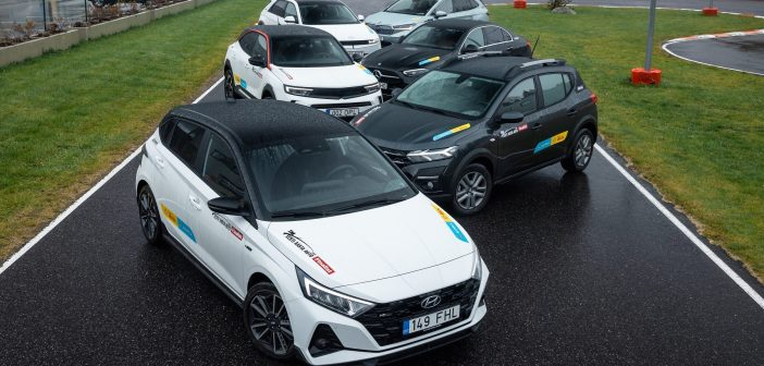 Sõidupäev Eesti aasta auto 2022 finalistidega