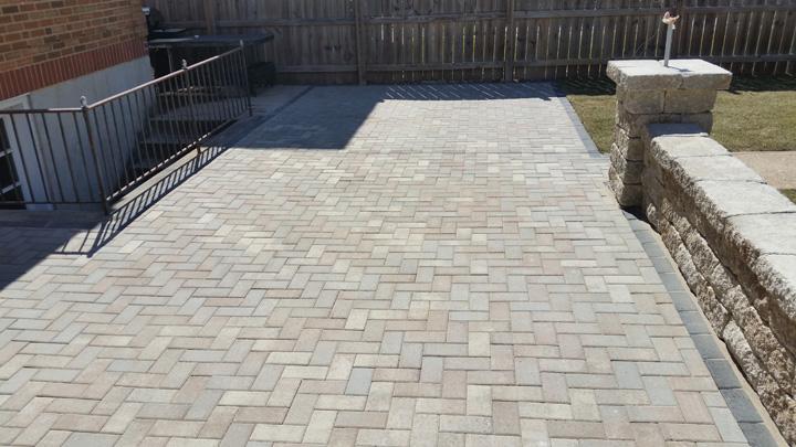 hollandstone paver patio