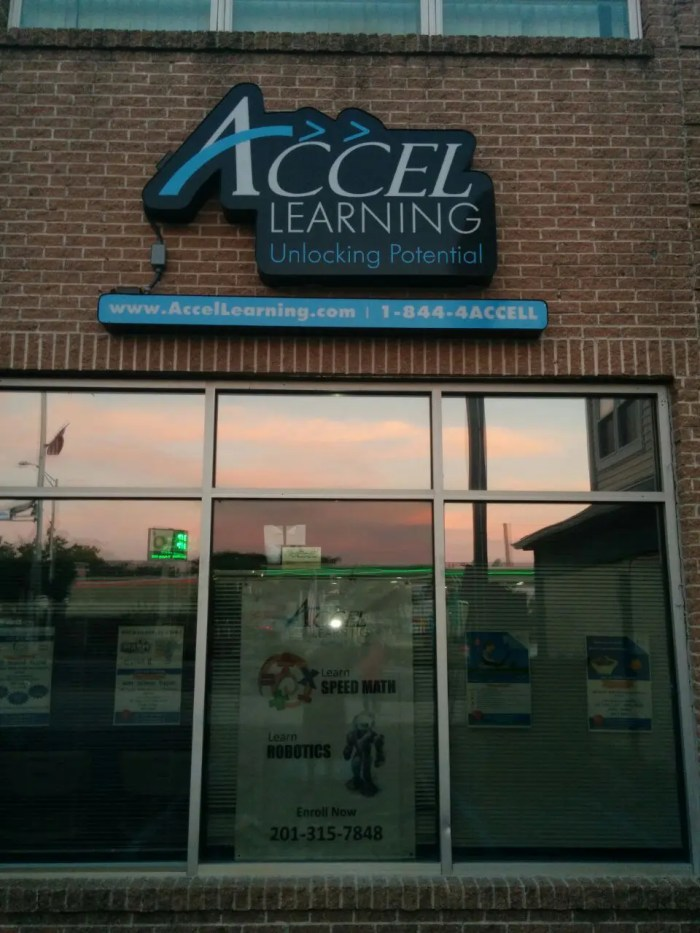 Accel Learning Store Front