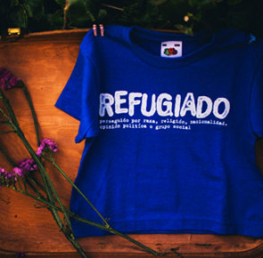 Camiseta refugiado yo elijo home