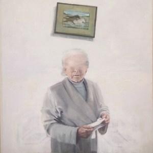 Caballos - Óleo sobre lienzo - 146x114cm - 2015