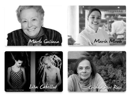 8 mujeres 4 causas