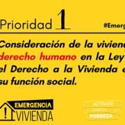 eapn prioridad 1 vivienda derecho humano