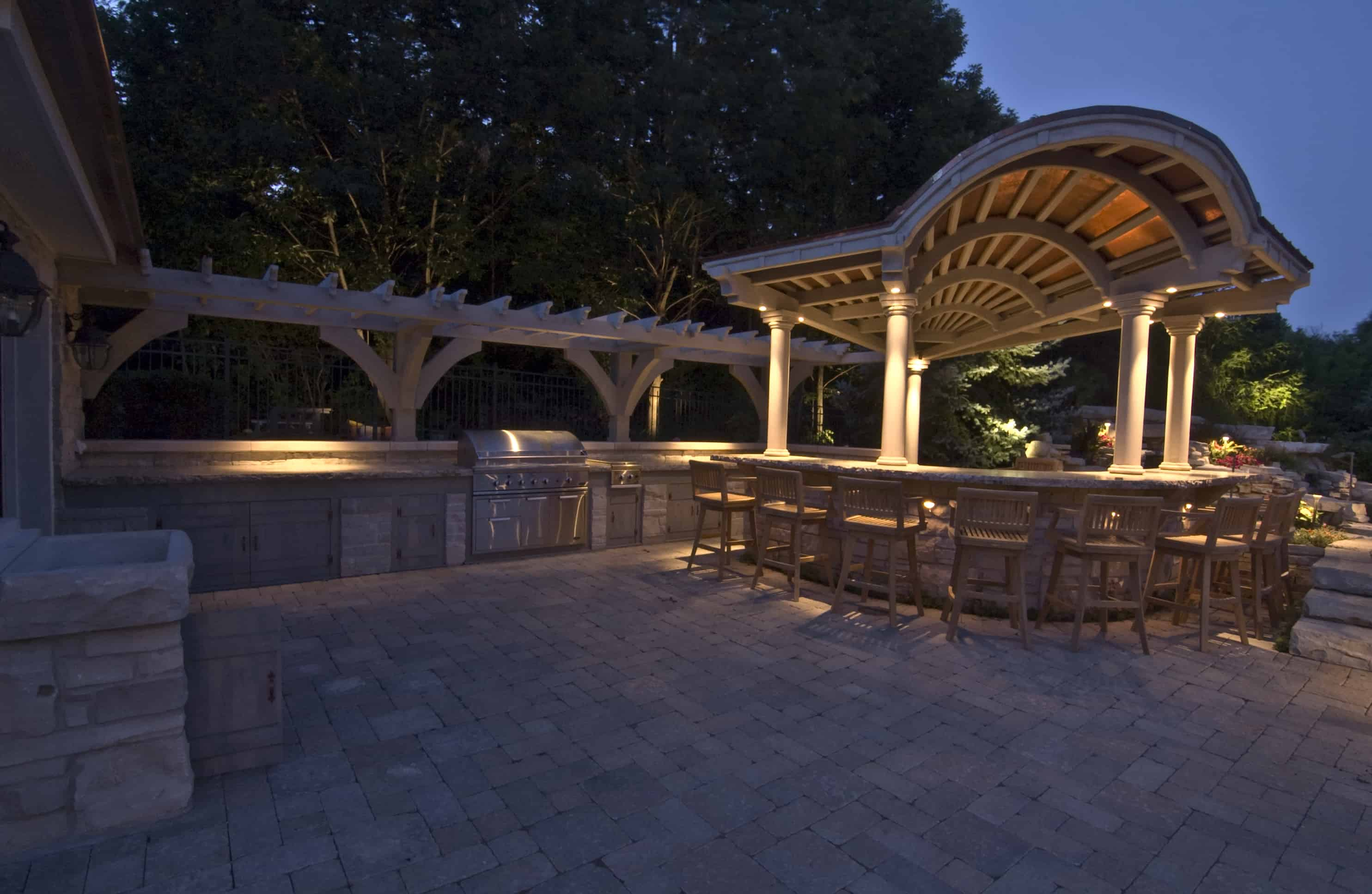 kitchen countertops las vegas decoration kitchen, bars and grills - outdoor lighting in chicago, il ...