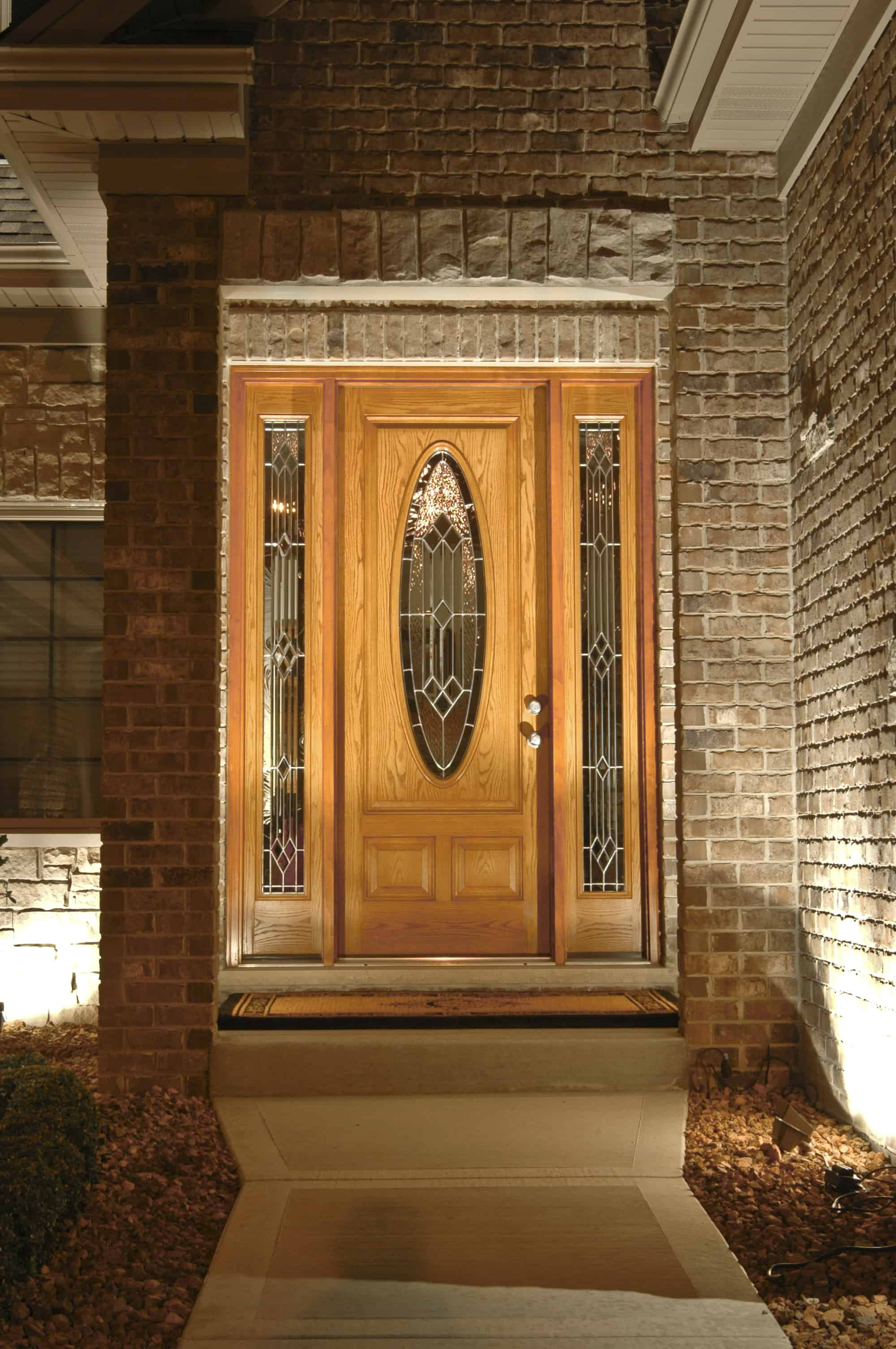 Residential Entryways Outdoor Lighting In Chicago Il