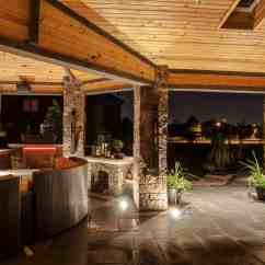 Kitchen Island Lighting With Prep Sink Gazebo, Pergolas And Pavilions - Outdoor In ...