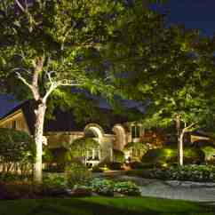Light Oak Kitchen Cabinets Backyard Moon Lighting - Outdoor In Chicago, Il | ...