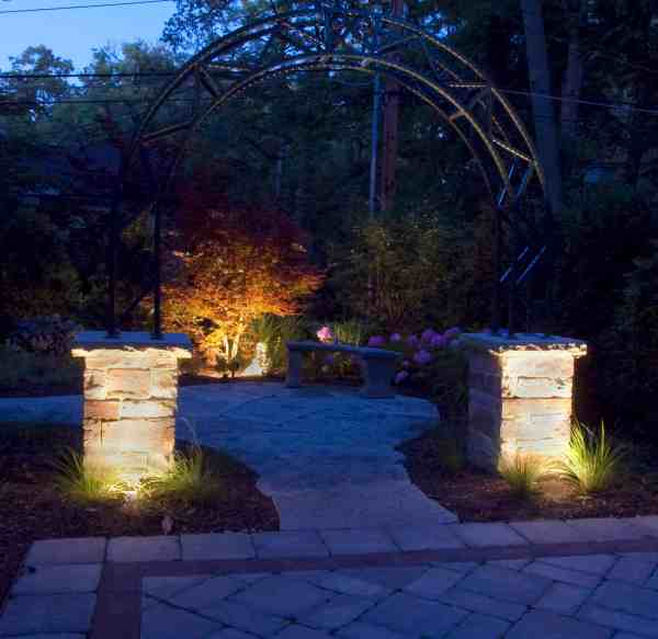 hardscapes - outdoor lighting