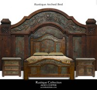 Rustique Collection - Rustic Old World Bedroom Furniture