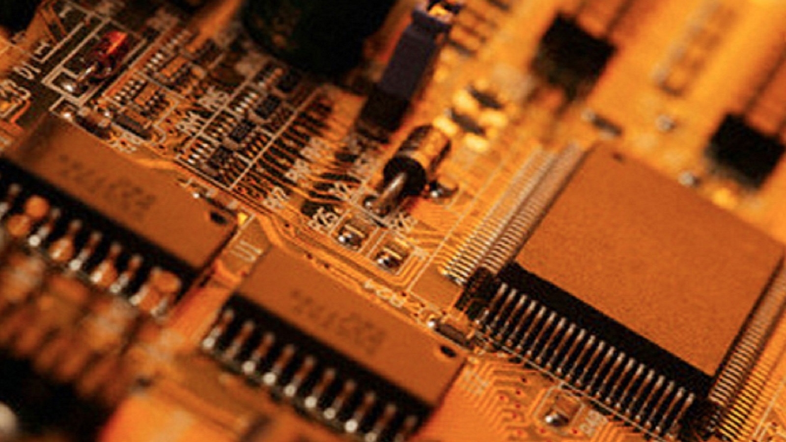 Semiconductor Industry For Electronics And High Tech