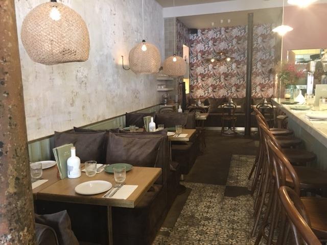 décoration tendance de restaurant