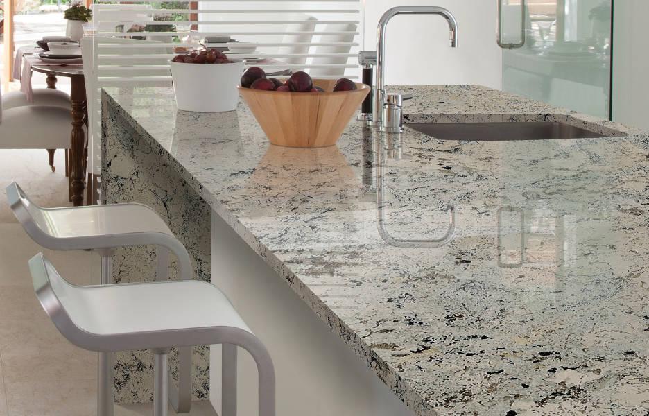 Encimeras de piedra 3 Materiales elegantes para tu cocina