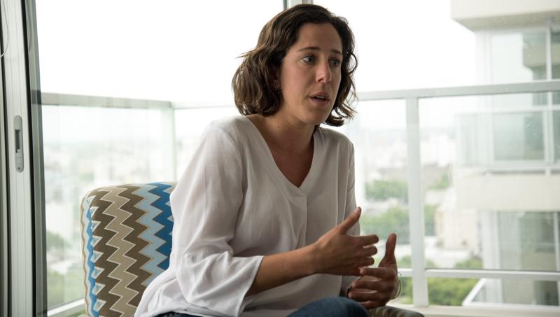 Carolina de los Santos, responsable comercial y marketing de Acceso Fáci