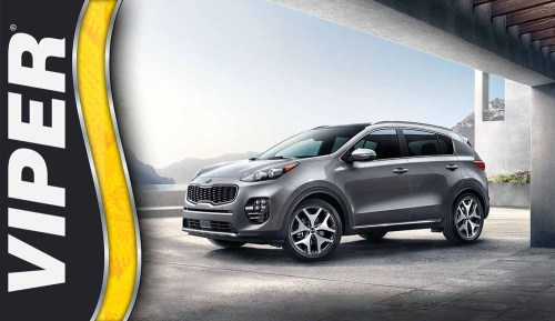 small resolution of building the ultimate security and convenience system for the 2015 kia sportage with the new viper ds4