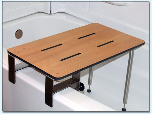 Portable Clamp On Tub Seat SH 426 Access Able Designs Inc