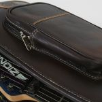 Leather Guitar Bag - Harvest Fine Leather, Cowhide Brown