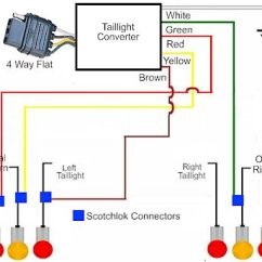 Can Light Wiring Diagram Whirlpool Dryer Schematic How To Install A Trailer Taillight Converter In Your Towing