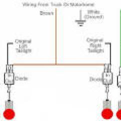 Tow Bar Wiring Diagram 1998 Ford F150 Alternator Trailer For 4 Way 5 6 And 7 Circuits