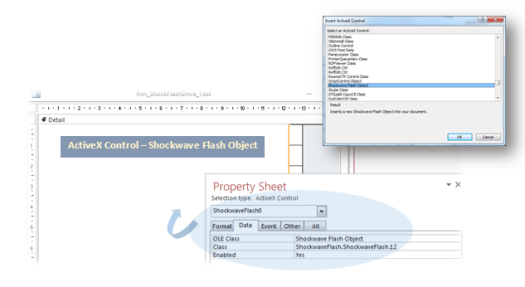 Adding A Flash Movie To A Microsoft Access Form