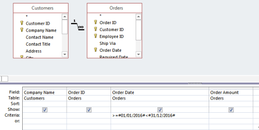 ms access query