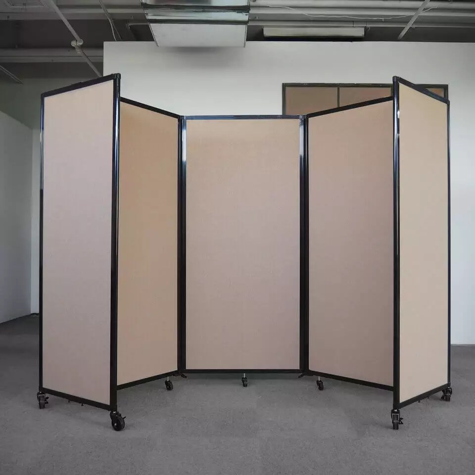 3 Panel Acoustic Room Dividers Access Displays