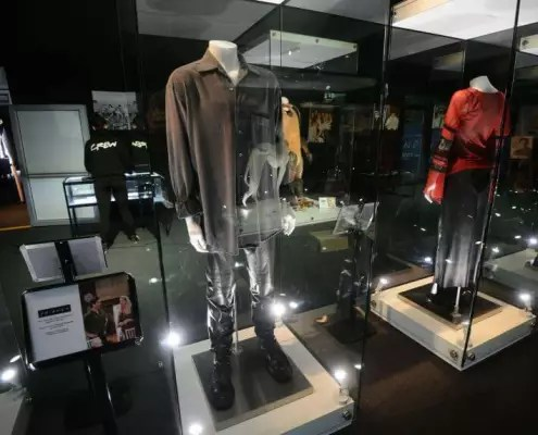 Mannequin Display Cases and Glass Cabinets for Costumes