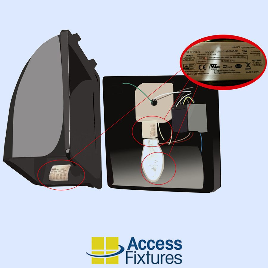 medium resolution of how to find the equivalent led wall pack to replace a metal halide wall pack