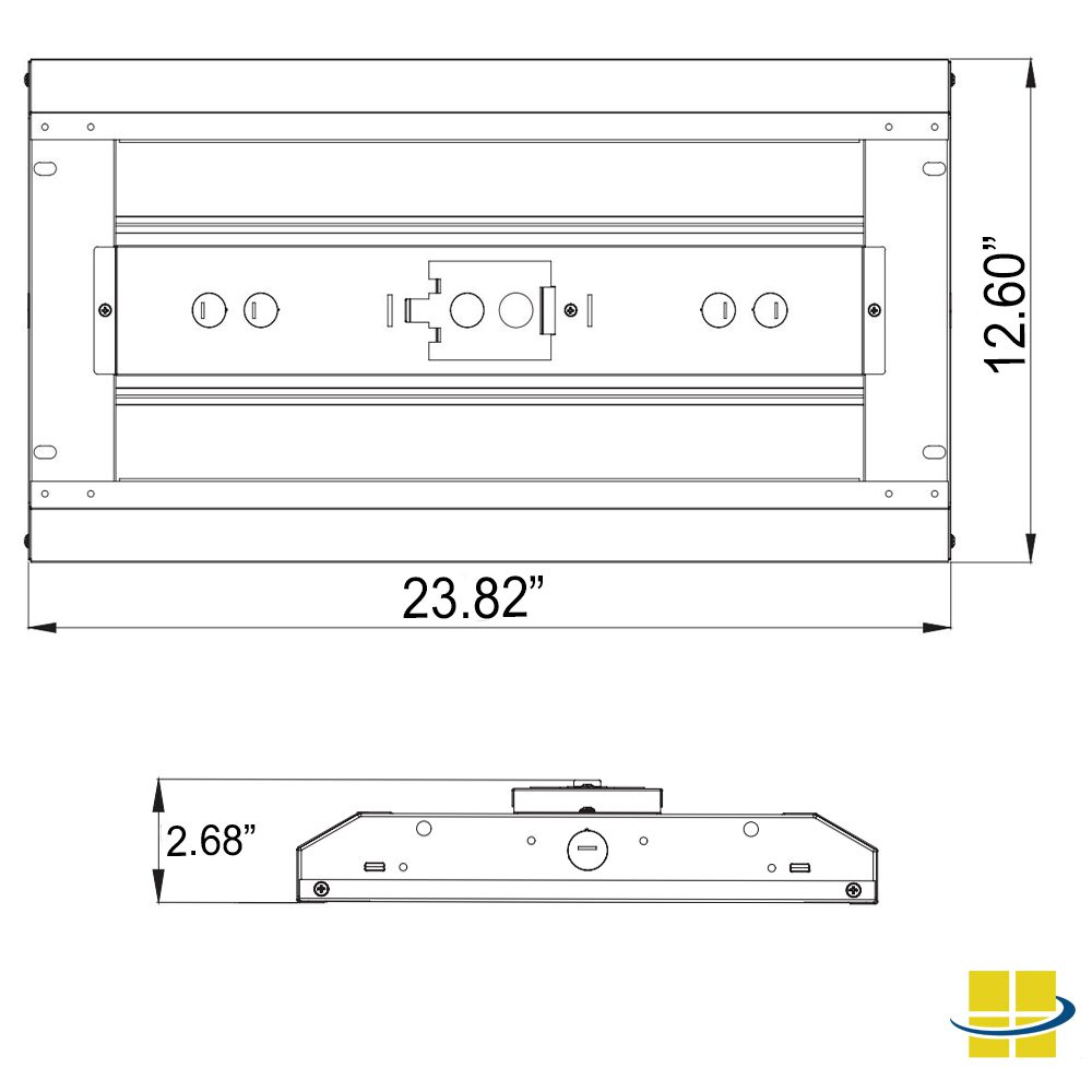 010v dimming wiring diagram how to setup dimmable led high bay or parking lot rat respiratory system 110w 120 277v 2 length 5 year warranty dimensions