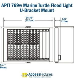 apti 769w turtle friendly led flood light 120 277v 200 000 hr  [ 1000 x 1000 Pixel ]