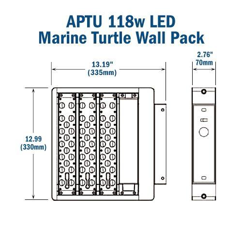 small resolution of r aptu 118w turtle friendly led wall pack 347 480v 50 000 hr