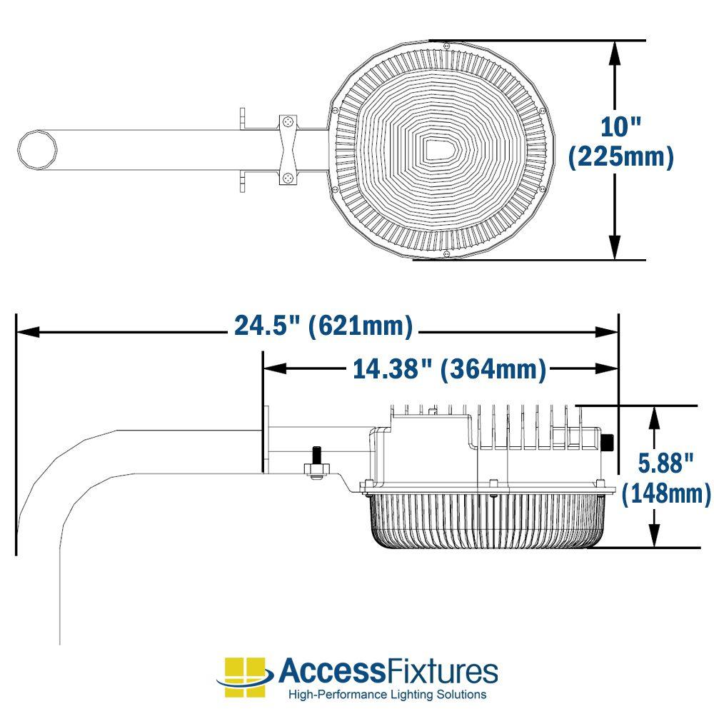 medium resolution of safi 40w led dusk to dawn wall mount light dimensions