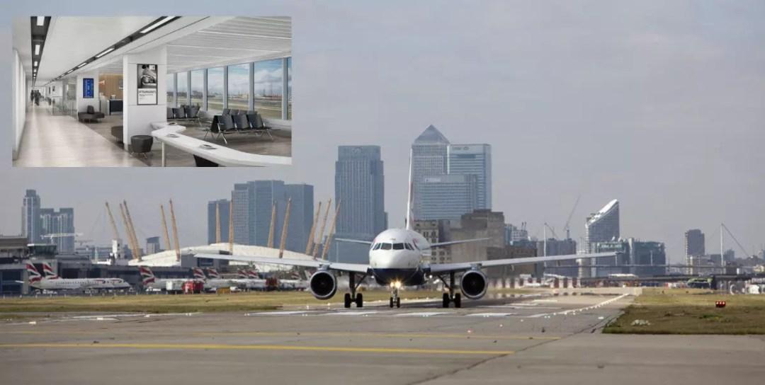 London City Airport West Pier