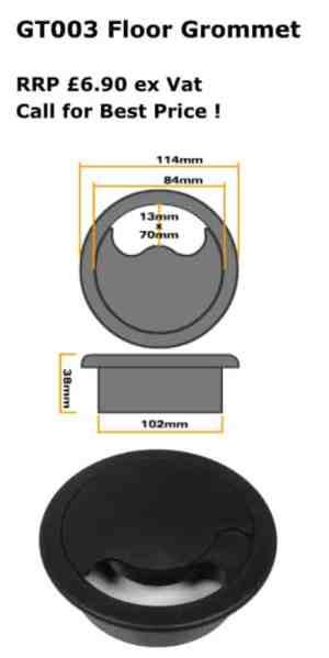 GT005 Round Floor Grommet