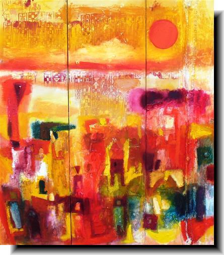 Baboucarr Etu Ndow artist painter