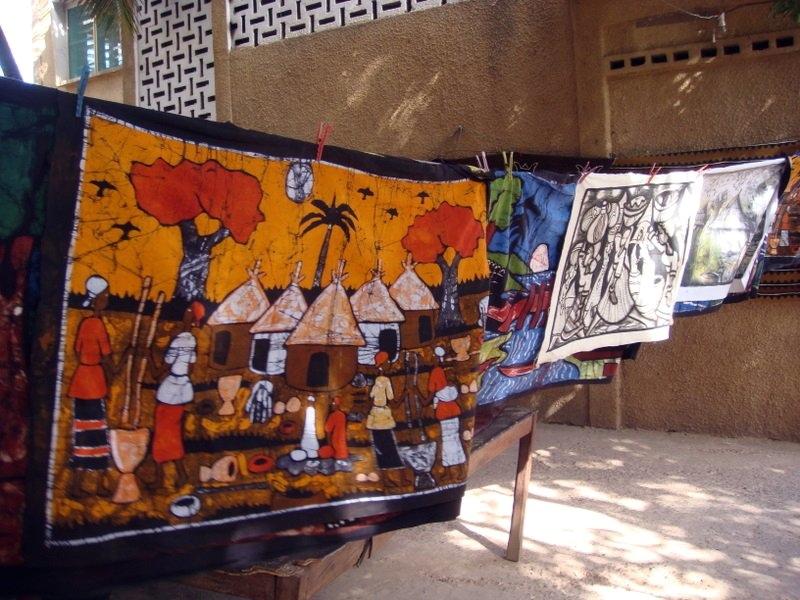 Afbeeldingsresultaat voor batik factory gambia