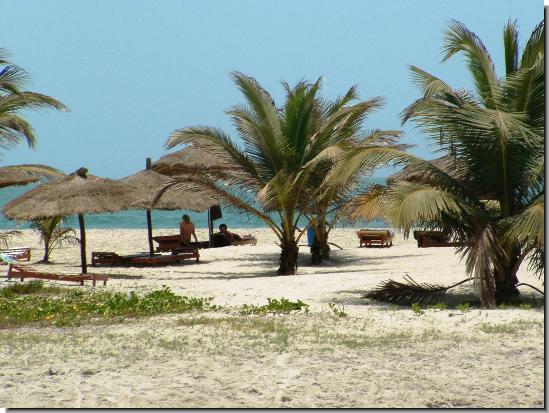 Kotu Gambia  Beach  Village information