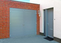 Steel Side Hinged Garage Doors | Access Garage Doors