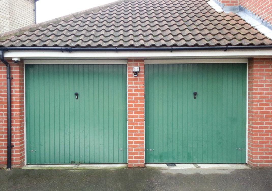 Double Garage Door Conversion  RSJ Lintel Installation