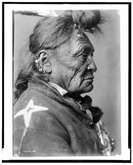 Hoop On the Forehead, Crow Indian, Montana