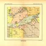 Indiana Land Cessions Map - Detail