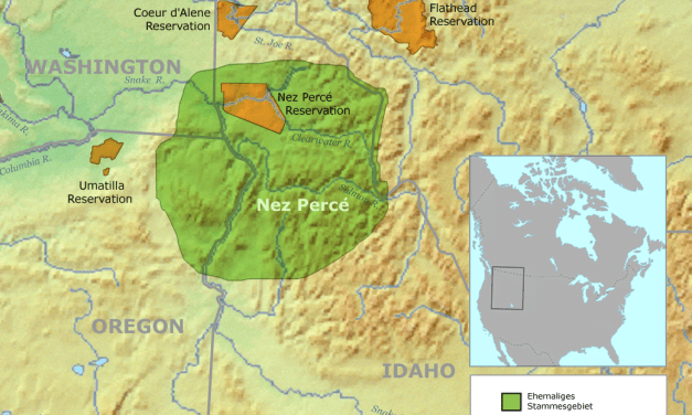Nez Percé Indian Chiefs and Leaders