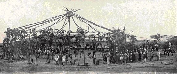 Ceremonies and Dance of the Plains Tribes