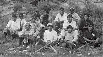Albuquerque Indian School baseball team