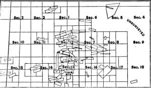 Map of Butte and Summit Valley Mining District