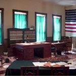 Judge Parker's Restored Courtroom as it appears today
