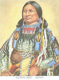 Kicking Bird, Kiowa